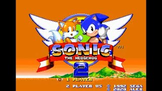 Sonic Hack Longplay - Sonic the Hedgehog 2+