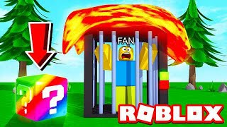 TROLLING FANS WITH RAINBOW LUCKY BLOCKS IN ROBLOX!