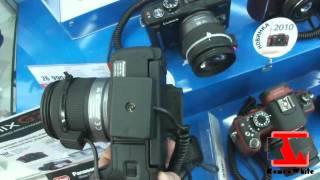Знакомство с Panasonic Lumix DMC-G2(Видео снято в сети магазинов МВидео., 2010-11-15T15:54:58.000Z)