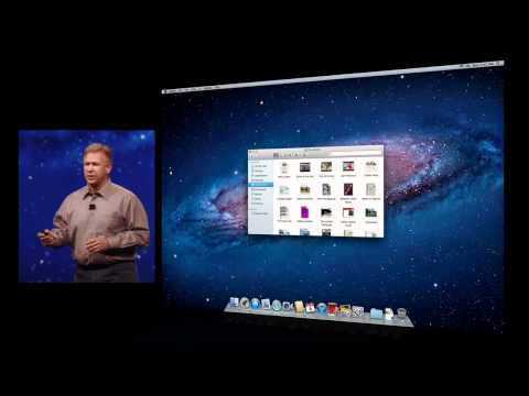 Apple OSX Lion - AirDrop - 2011 WWDC Keynote