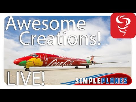 Awesome Creations 2 0! – Simple Planes – Multiplayer! – Live