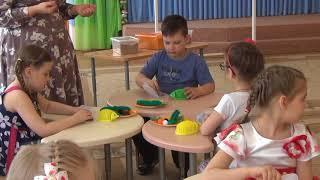 Видеофрагмент занятия по обучению грамоте 2017