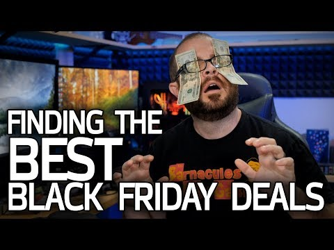 Finding the BEST Black Friday 2018 Tech Deals!