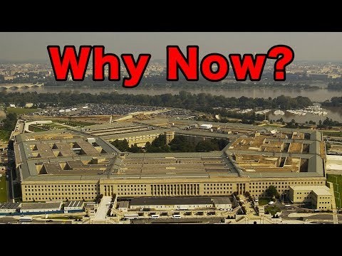 Why Has The Pentagon Green Lighted UFO Disclosure?