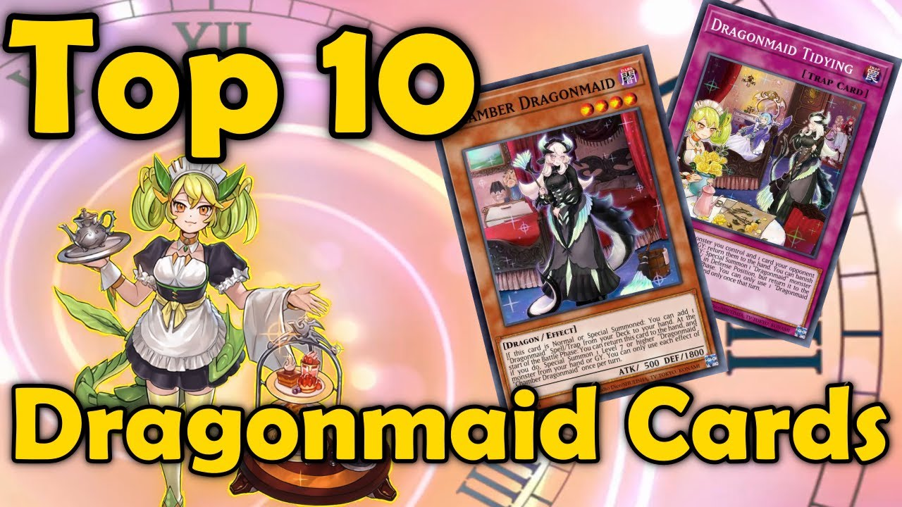 Top 10 Dragonmaid Cards in YuGiOh
