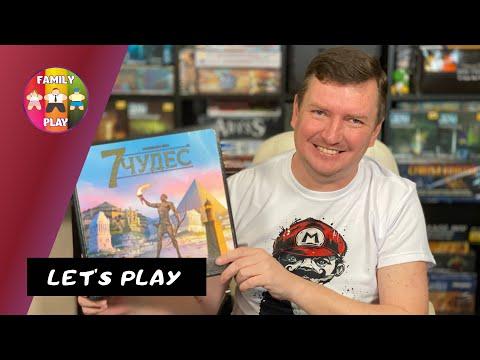 Настольная Игра - 7 Чудес | 7 Wonders