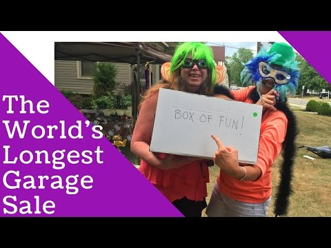 Conquering the World's Longest Garage Sale!!!  | amazon FBA and ebay