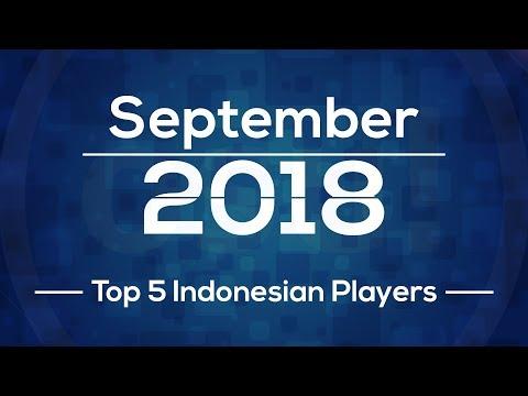 TOP 5 INDONESIAN OSU PLAYERS (SEPTEMBER 2018)