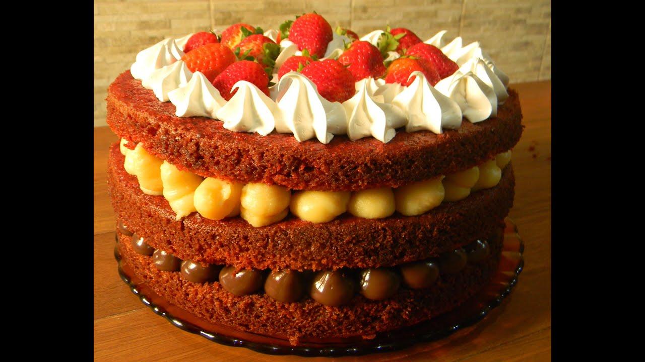 Red Velvet Naked Cake de St Valentin   Gourmandise Assia