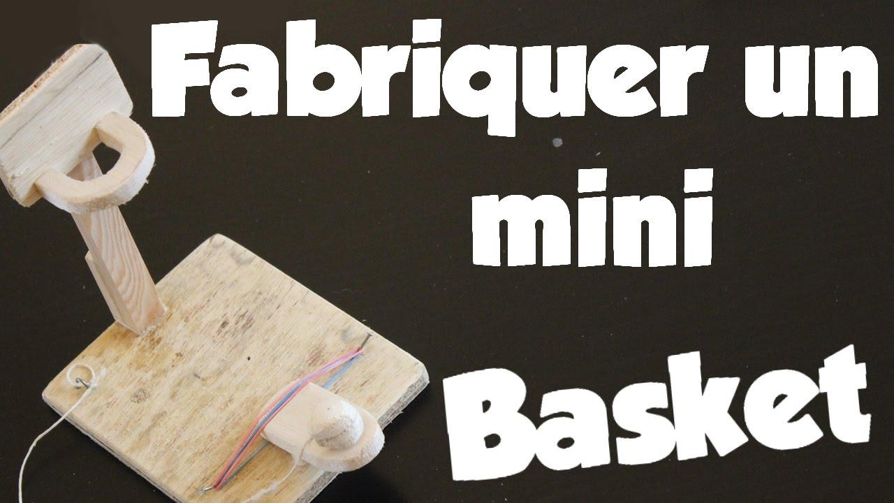 fabriquer un jeu de mini basket youtube. Black Bedroom Furniture Sets. Home Design Ideas