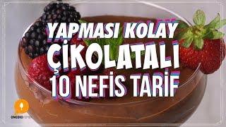 Yapması Kolay Çikolatalı 10 Nefis Tarif - Onedio Yemek - Tatlı Tarifleri