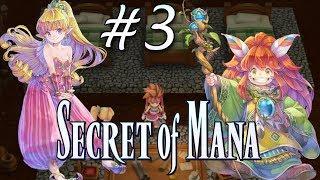 Secret of Mana Remake (PS4) - Parte 3 - Presentando al sprite y la chica!
