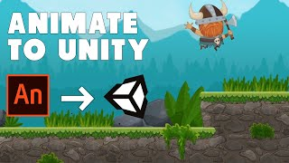 My Adobe Animate To Unity Animation Workflow |  Game Dev Tutorial