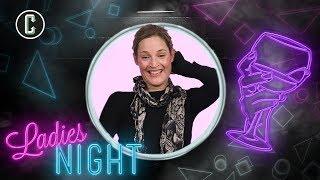 Phantom Thread's Vicky Krieps Gets Crafty on Ladies Night