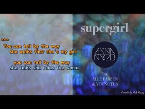 Supergirl feat Alle Farben&Younotus  Instrumental and Lyrik