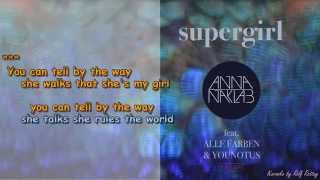 Supergirl feat Alle Farben&Younotus  Instrumental and Lyrik by Rolf Rattay HD