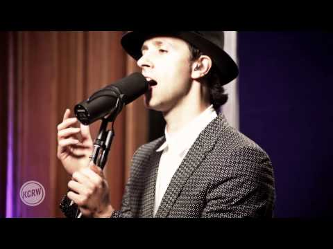 Maximo Park performing