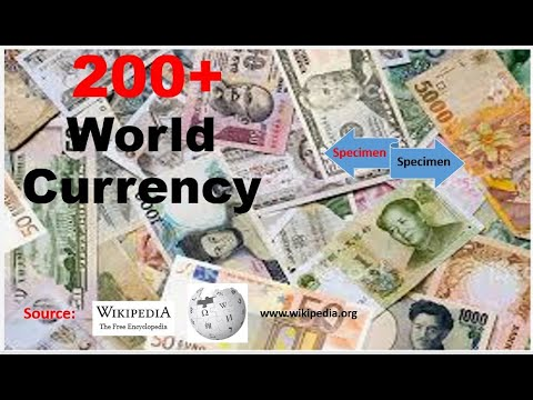 Currencies Of All Countries - World Currency Info (Source Wikipedia) For Commerce And MBA Students