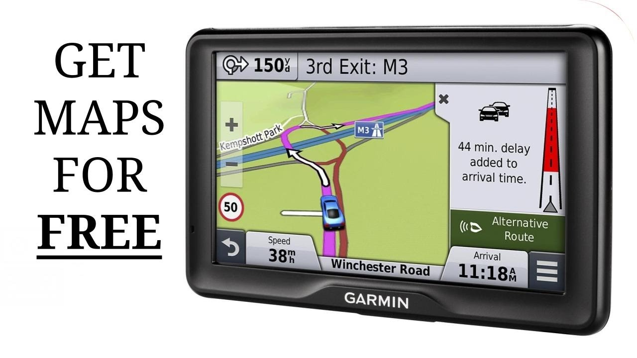 Update Garmin Satnav Maps For Free Youtube