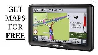 Update Garmin Satnav Maps For Free !!