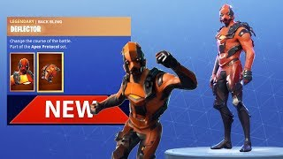 *NEW* VERTEX SKINS, FORERUNNER GLIDER & RAZOR EDGE AXE! - Fortnite Battle Royale