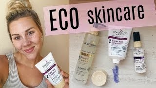 Trying Out A New Skincare Line - Eco by Sonya!