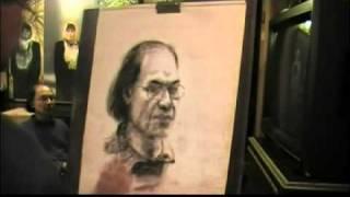 CHÂN PHƯƠNG - phác thảo chì than bởi Nguyễn Trọng Khôi