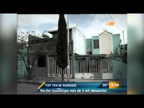 Las diez colonias más ruidosas en Guadalupe, Nuevo León
