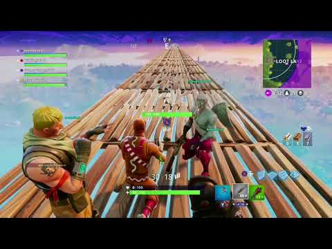 Fortnite: Stairway to Heaven Win!