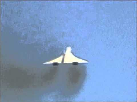 Concorde Take Off; Sonic Boom