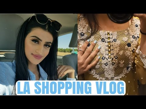 VLOG: Where I buy my Indian/Pakistani Clothes