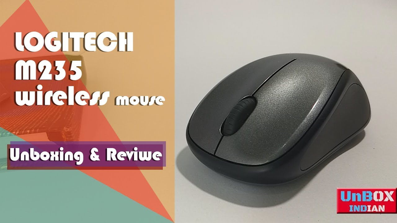 Logitech M235 Wireless Mouse Full Review Youtube