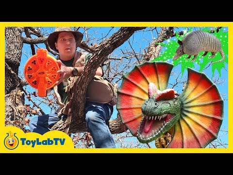 Download Youtube: Giant Dinosaurs Attack Park Rangers Who Use Nerf Blaster Toys to Surprise Dinos and Save the Eggs