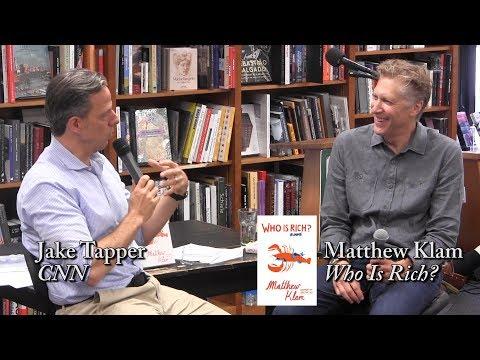 "Matthew Klam, ""Who Is Rich?"" (with Jake Tapper)"