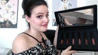 LIVE STREAM: $6 Liquid Lipsticks! Are they GOOD? Bad Habit Liquified Matte Lipsticks - Lip Swatches!