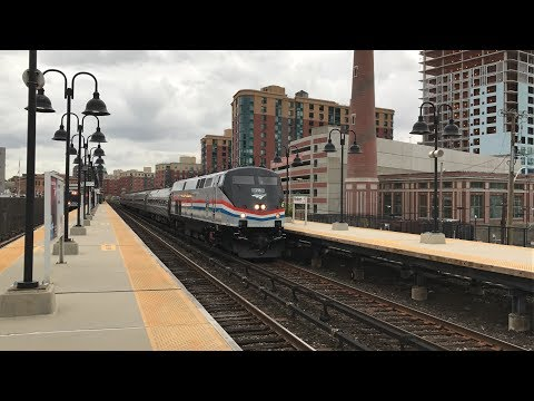 Metro North Railroad & Amtrak HD 60fps: Early Evening Hudson Line Action @ Yonkers (10/23/17)