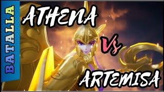 SAINT SEIYA AWAKENING   Diosa Athena vs Diosa Artemisa
