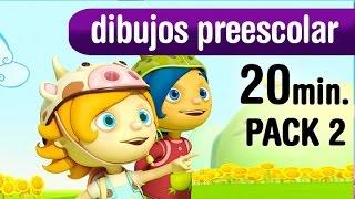 Dibujos animados niños pequeños, 20 minutos dibujos - pack2