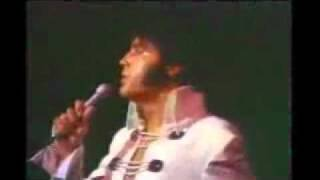 Elvis There Goes My Everything Live