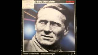Ernst Busch - der Schauspieler