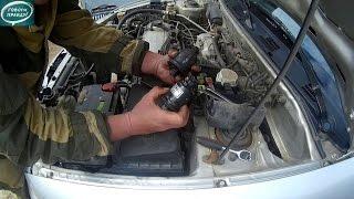 Лёха & замена топливного фильтра Mitsubishi Carisma 1996