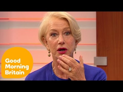 Dame Helen Mirren On Camping With Liam Neeson | Good Morning Britain