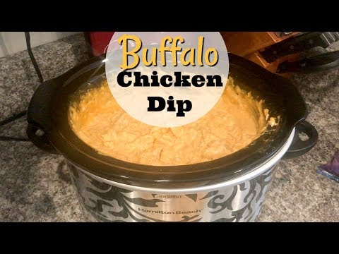 CROCKPOT BUFFALO CHICKEN DIP | EASY SUPER BOWL RECIPE