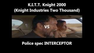LETHAL 2000 K.I.T.T. vs INTERCEPTOR(PS) 致死の2000
