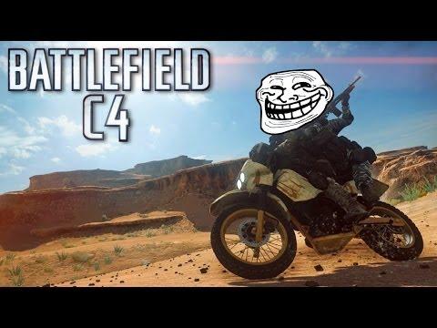 BATTLEFIELD 4 - DIRT BIKE C4 COMPILATION