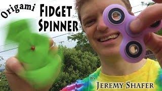 Origami Fidget Spinner