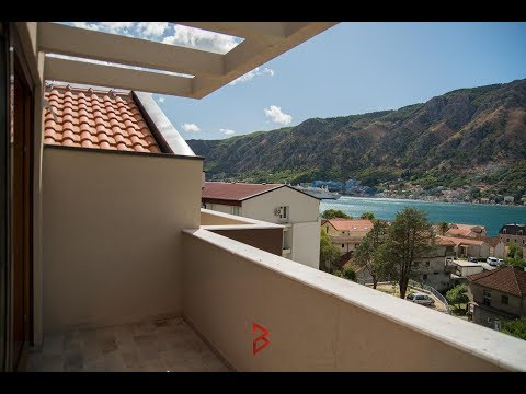 Penthouse with Bay of Kotor view - Property in Montenegro