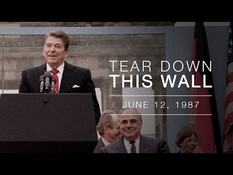 87: Reagan Challenges Gorbachev to 'Tear Down This Wall' | Glenn ...