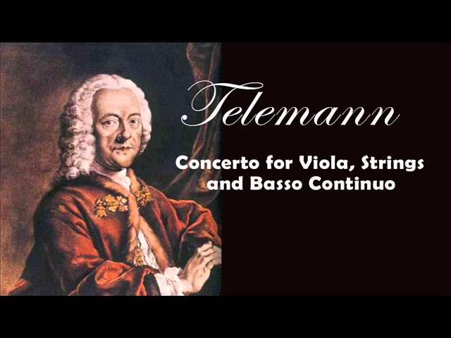 Georg Philipp Telemann - Viola Concerto TWV 51:G9 | Classical Music