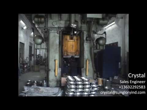 Sun Glory 1600 tons Friction Press Machine for Impact Bonding